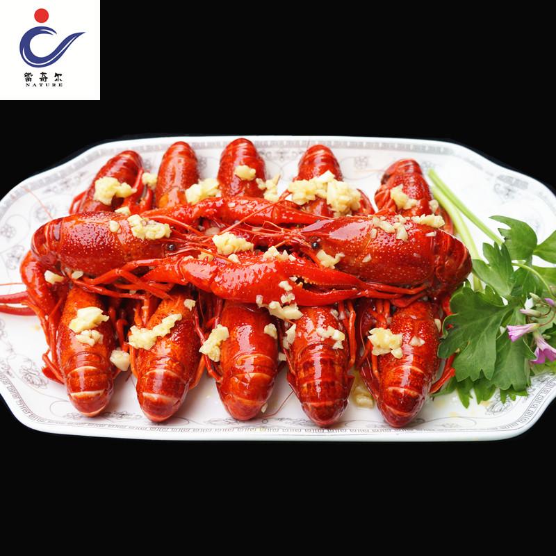 蕾奇尔麻辣小龙虾熟食油焖大虾蒜蓉味鲜活现做加热即食4-6钱700g
