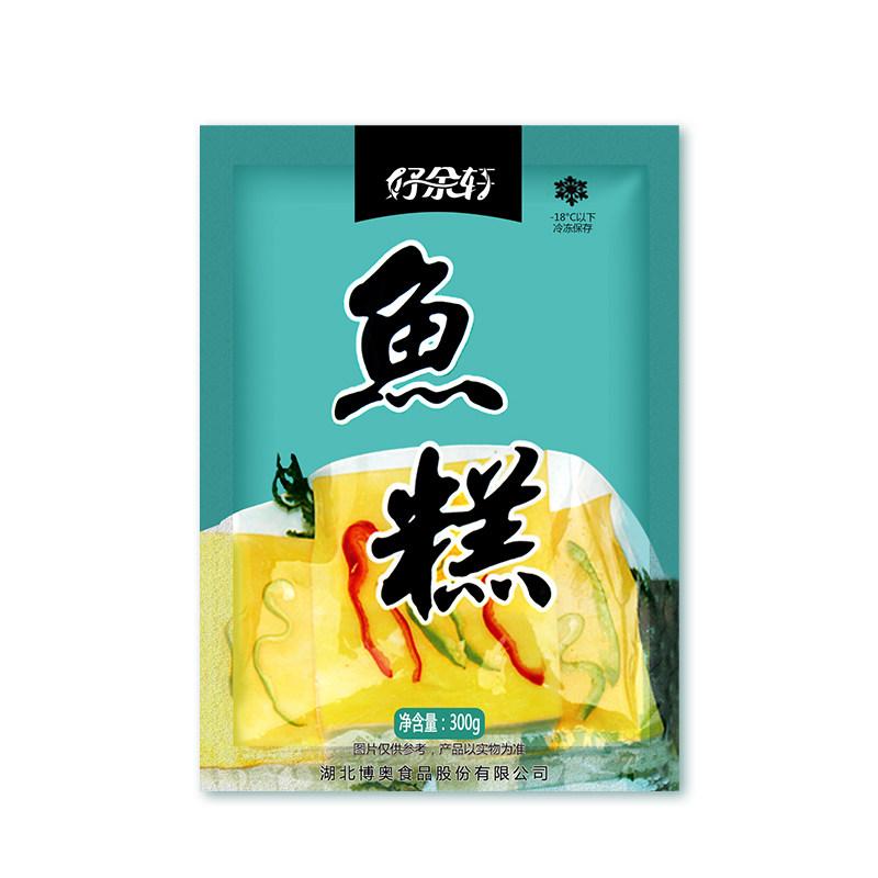 丹江口好余轩鱼糕300g/袋,鲜活淡水鱼制作而成