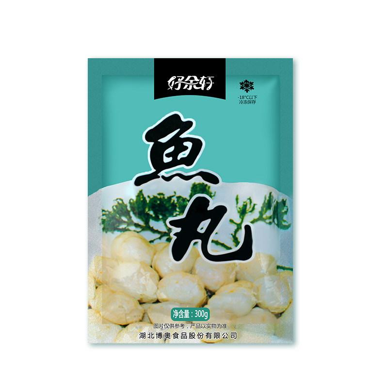 丹江口市好余轩鱼丸260g/袋,天然食材制作而成,无添加,老少皆宜