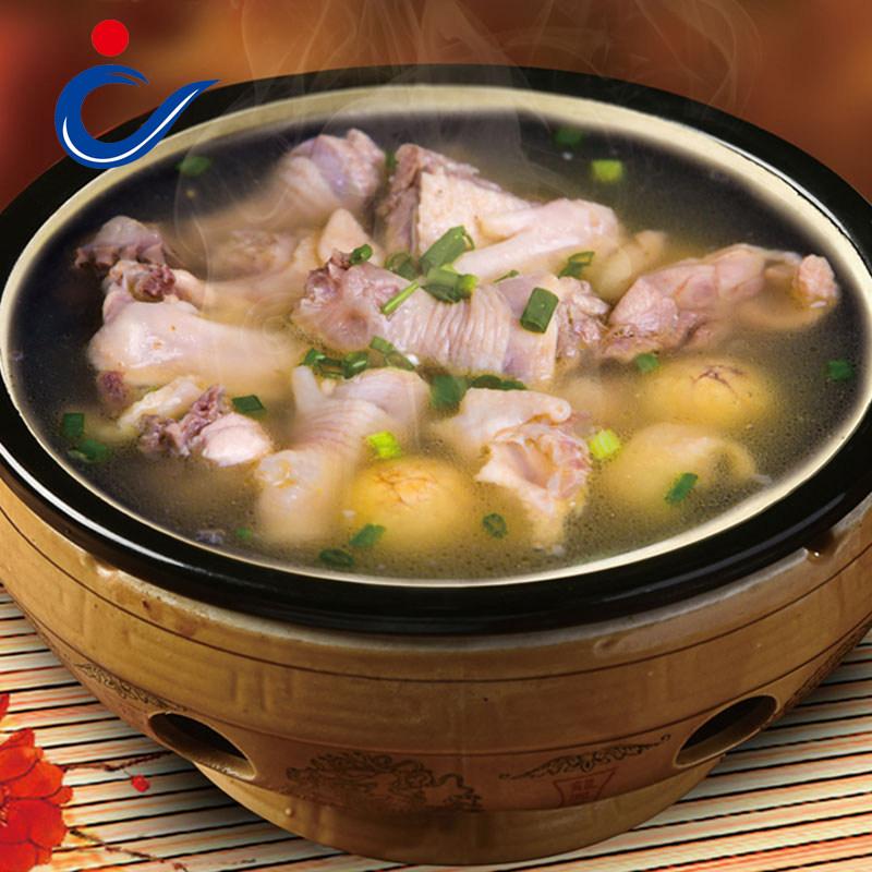 自然佳土鸡汤加热即食罐头产品农家散养母鸡汤滋补速食850g罐装