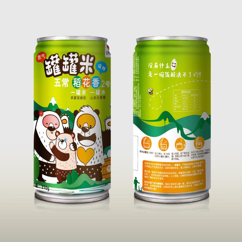 五常有机大米五福常丰罐罐米(20罐)