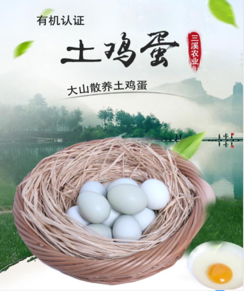 仪陇蜀璞有机土鸡蛋30枚78元/盒包邮