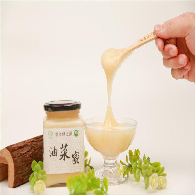 德乡蜂之源 油菜花蜂蜜 500g/瓶