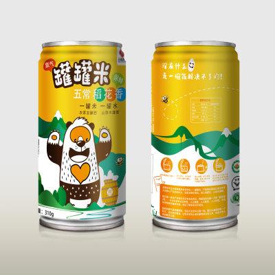 五常富硒大米五福常丰罐罐米(12罐)