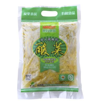 亲民有机酸菜丝乳酸菌舌尖上的中国3东北酸白菜丝450g