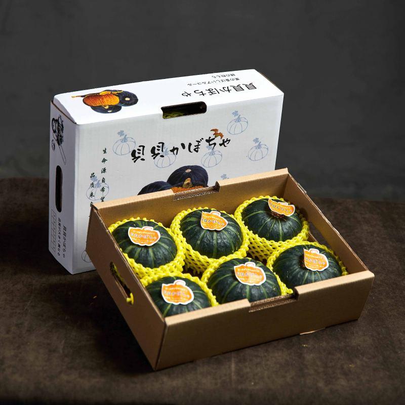 贝贝南瓜板栗味小南瓜新鲜5斤粉糯甜礼盒装