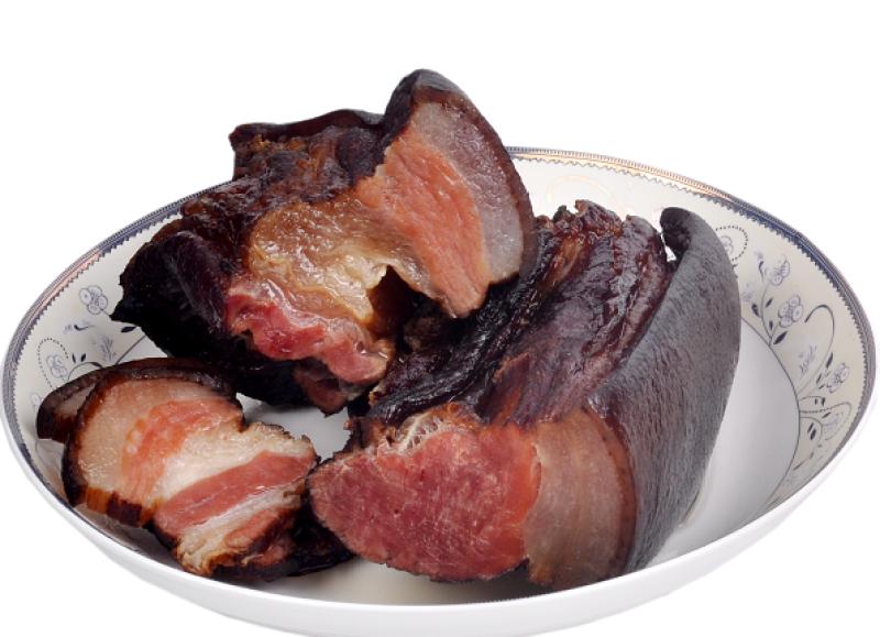 城步县红薯妹-苗寨柴火熏制土猪腊肉500g